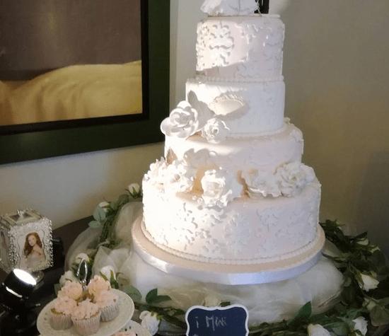 Torta con Novios personalizados