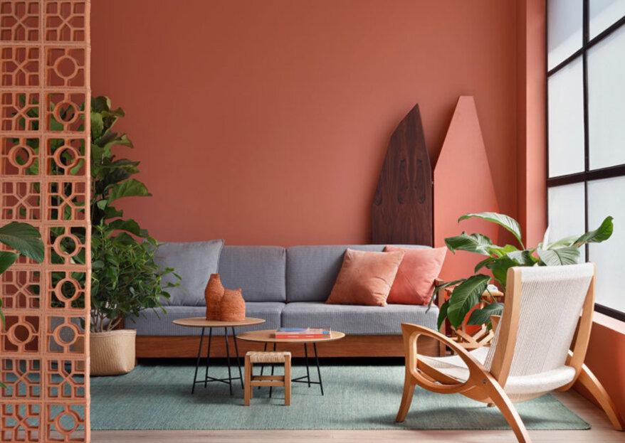 Cómo implementar el color del año en la decoración del hogar