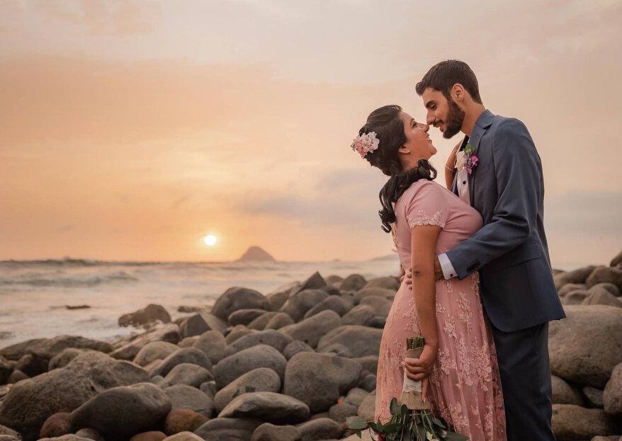 ¡Carolina y Luca, una historia de amor que nace en un crucero!