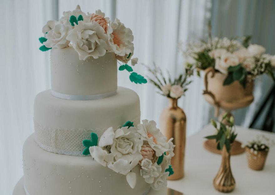 ¿Cómo y cuándo cortar la torta de matrimonio?