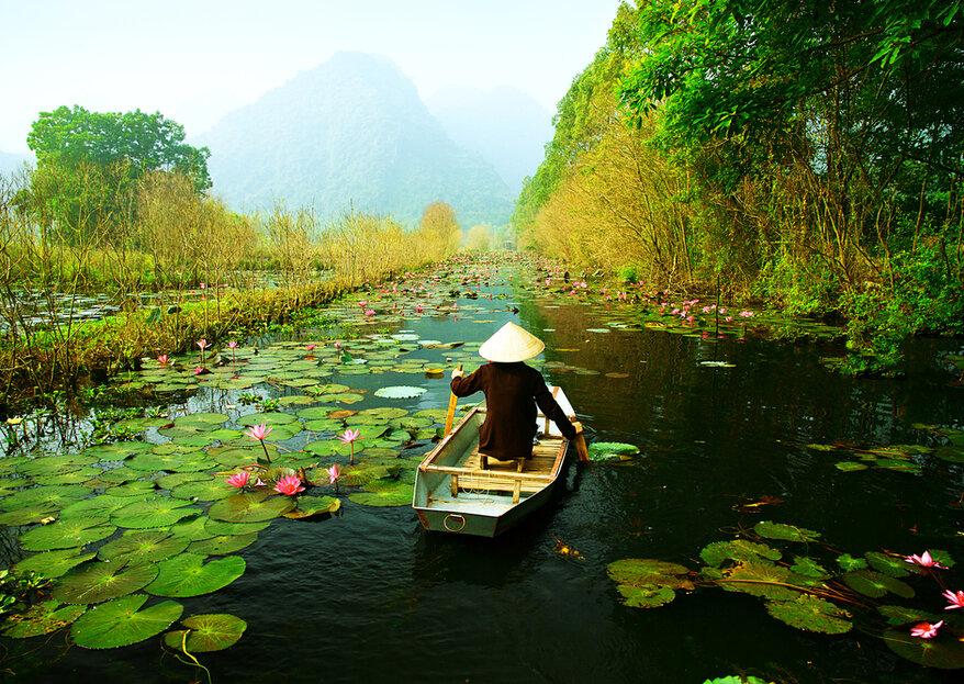 Luna de miel en Vietnam: un paraíso milenario para disfrutar de la cultura asiática