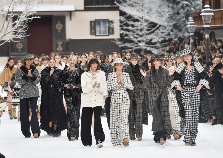 Chanel homenajea a Karl Lagerfeld durante la Semana de la Moda en París