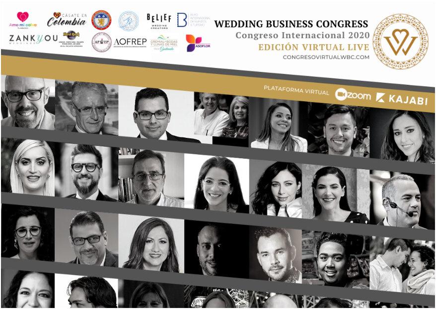 Wedding Business Congress, edición virtual: 'las bodas como generadoras de negocio'