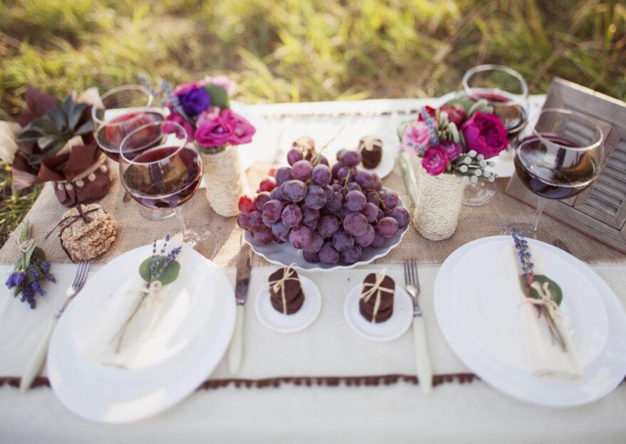 Cómo elegir el menú para matrimonio: ¡cautiva todos sentidos!
