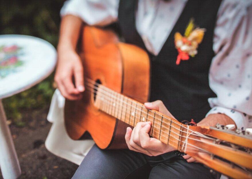 Tipos de grupos musicales con las que poner ritmo a tu boda. ¡Cantautores, bandas o solistas!