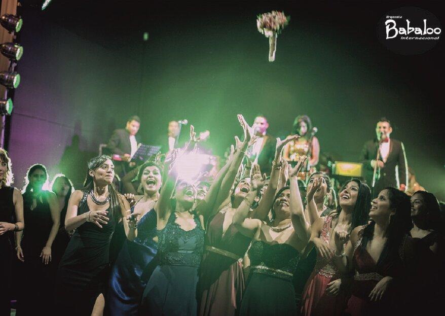 Orquesta Babaloo: una orquesta con un repertorio variado que conquistará tu matrimonio