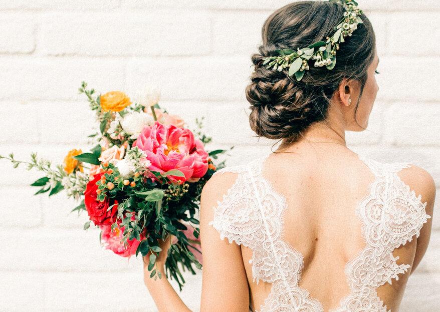¿Cómo elegir el moño que lucirás en tu matrimonio? ¡Saca partido a tu peinado!
