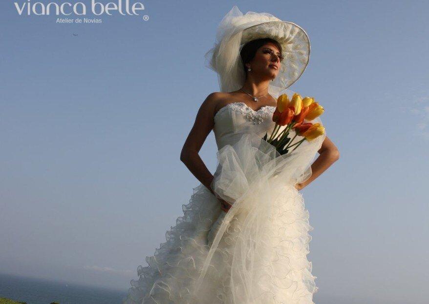 Vianca Belle Novias: un atelier en la ciudad Lima con el vestido de novia perfecto para ti