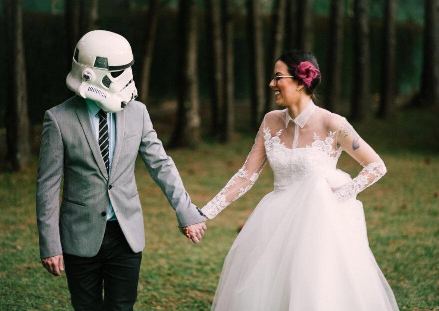Matrimonio inspirado en Star Wars: Luana y Caio y su celebración ¡con detalles que te encantarán!