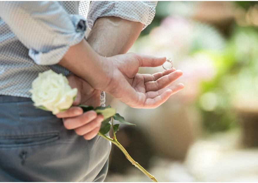 Conoce las tendencias en oro blanco, amarillo o rosa para tu anillo de compromiso. ¡Elige tu favorito!