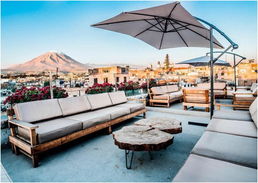 Los mejores hoteles para tu luna de miel en Arequipa: ¡amor en la ciudad blanca!