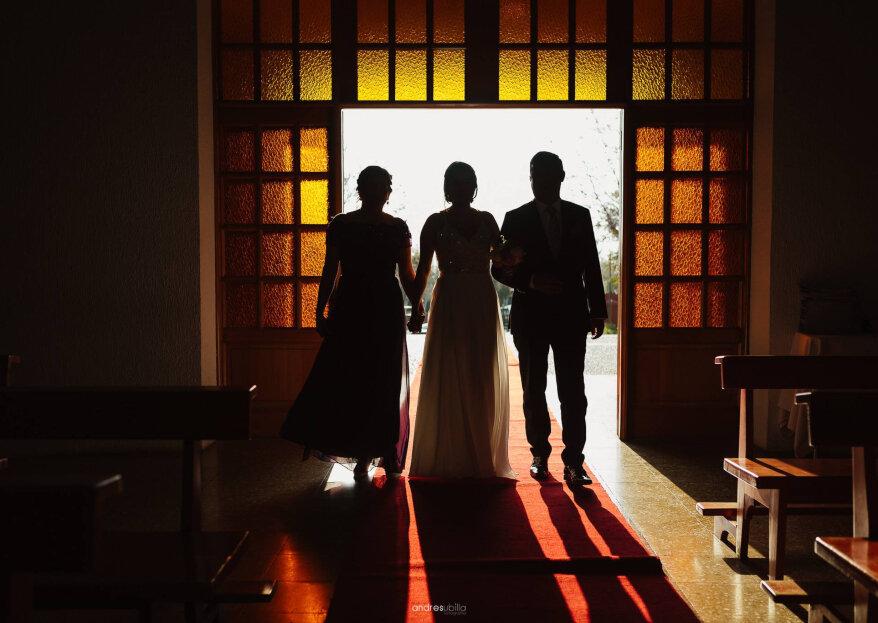 Matrimonio con padres divorciados: protocolo para la organización