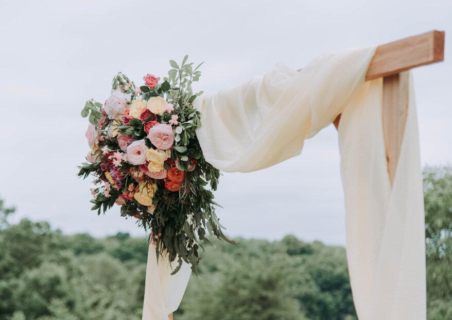 Cómo decorar la ceremonia de tu boda: ¡impresiona desde el primer momento!