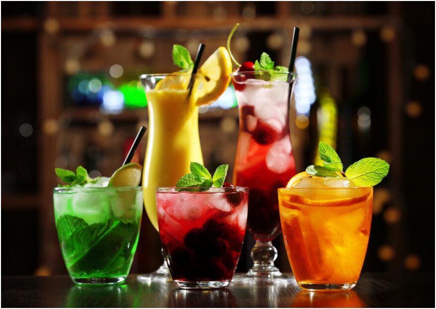 12 cócteles infaltables en la barra libre de tu matrimonio: ¡celebra con sabor!
