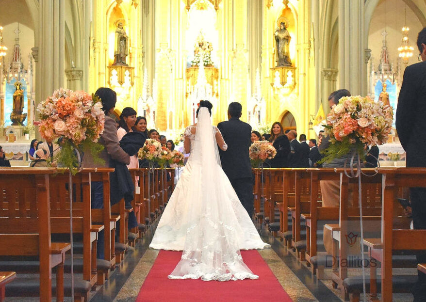 Las 5 etapas del servicio de flores para matrimonios. ¿Las conocías? ¡Descúbrelas con DTallitos Floral Design!