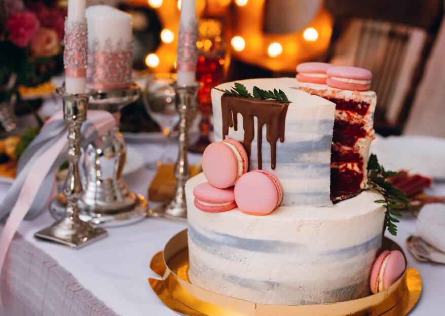 Los 5 sabores de tortas de bodas que marcan tendencia este 2021