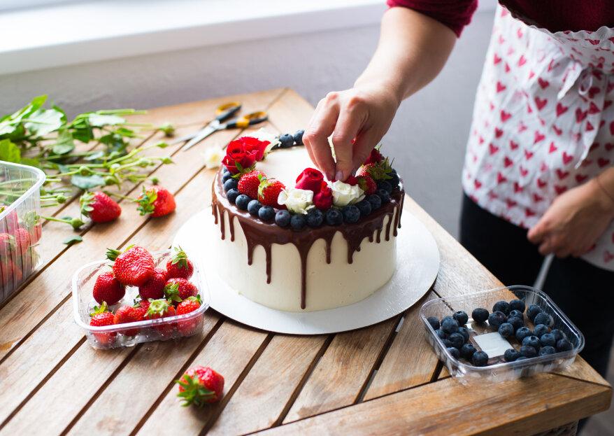 ¿Qué preguntas hacer para elegir al pastelero responsable de tu torta de matrimonio?