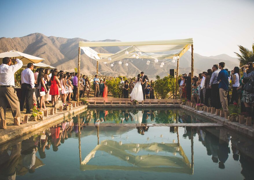 Cómo decorar un matrimonio al aire libre: sigue estos 5 pasos