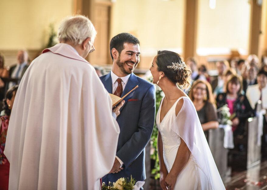 ¿Qué documentos necesitas para un matrimonio religioso? Te contamos