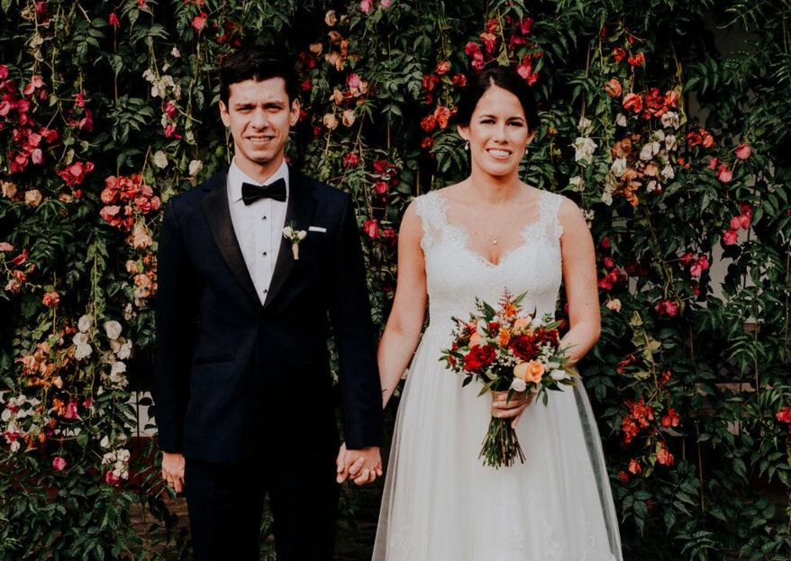 Francesca y Alonso: la magia de una unión que representa tu estilo más personal