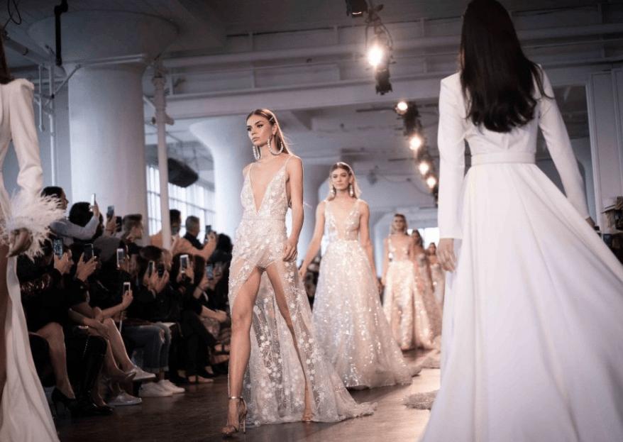 New York Bridal Fashion Week 2019: ¡tendencias que se imponen con fuerza!