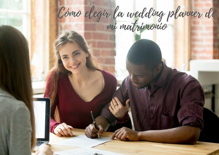 Cómo elegir wedding planner de mi matrimonio: ¡los 5 pasos para decidirte!
