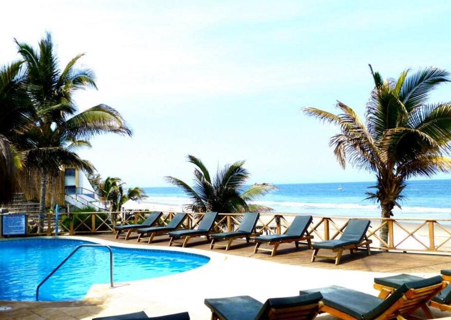 Los mejores hoteles para tu luna de miel en Máncora. ¡Descubre este paraíso del norte peruano!
