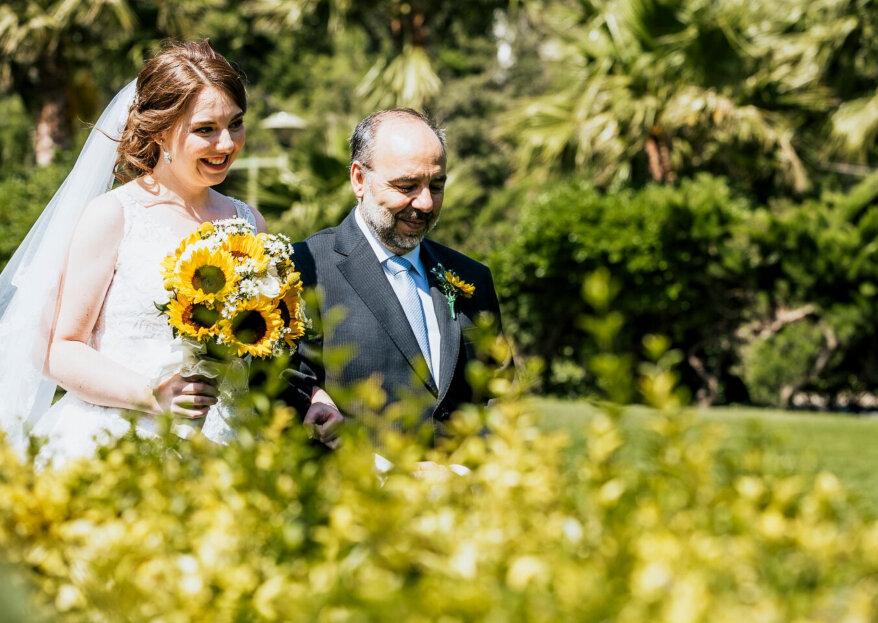 ¿Cómo elegir el traje del padre de la novia? ¡Se robará todas las miradas al acompañarte al altar!