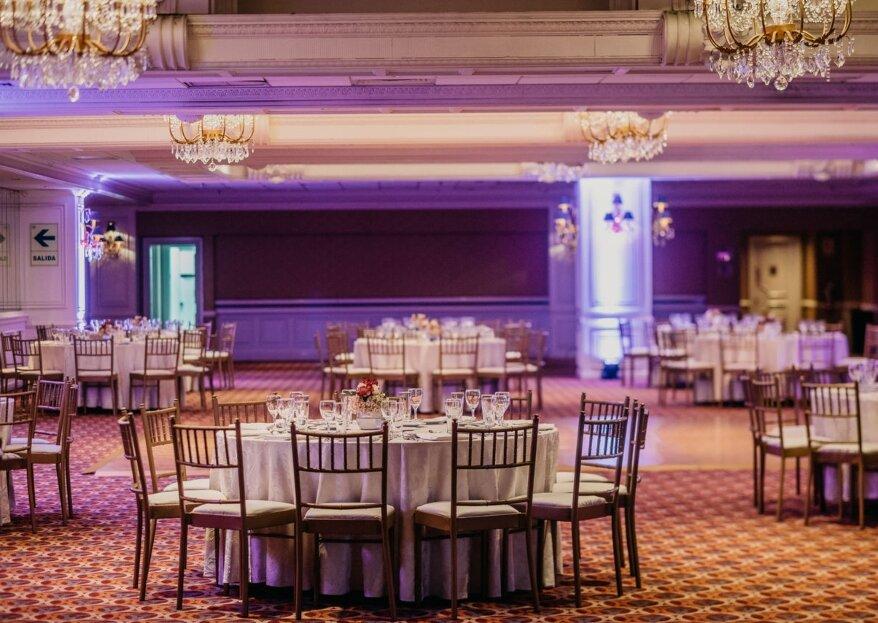 Sheraton Lima Hotel & Convention Center: lujo y profesionalidad para una boda de diez