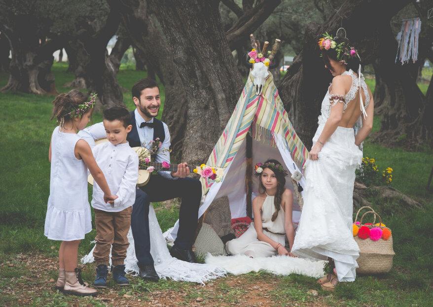 Cómo decorar un matrimonio hippie. ¡Deja volar tu imaginación!