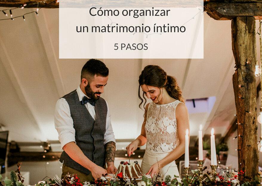 Cómo organizar un matrimonio íntimo: ¡celebra el amor en confianza!