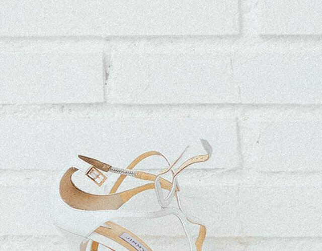 Zapatos de novia en San Martin